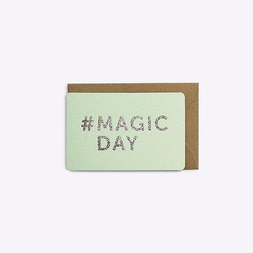 mini carte magic day LES EDITIONS DU PAON