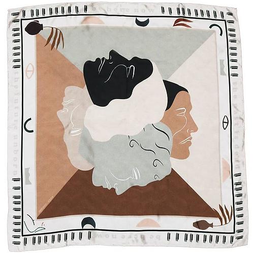 foulard duel SOIE MEME