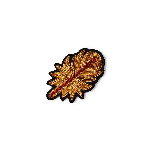 broche plume de phoenix MACON & LESQUOY