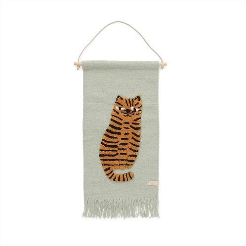 tapis mural tigre OYOY