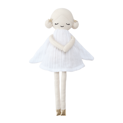 poupée fée de l'hiver FABELAB