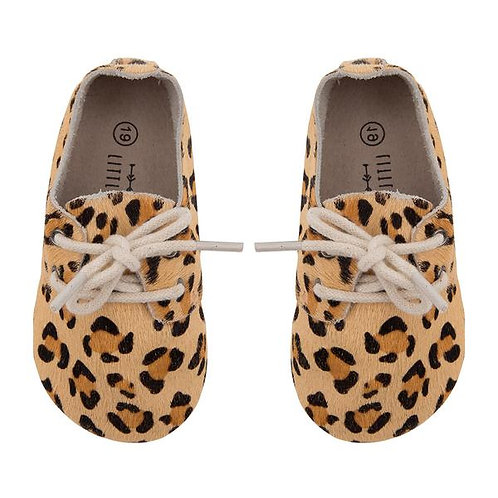 chaussures léopard LITTLE INDIANS