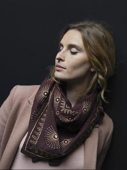 foulard anna black cherry MARADJI