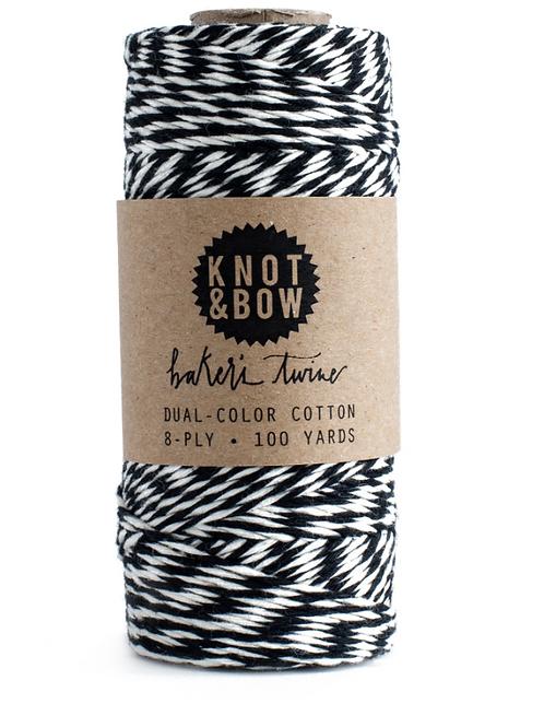 bobine fil noir/blanc KNOT &BOW