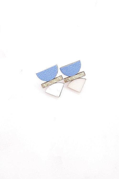 boucles d'oreilles solar blue ATELIER PICA