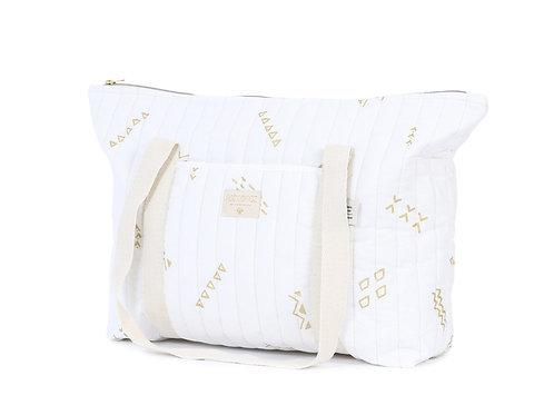 sac maternité gold secret night coton bio NOBODINOZ