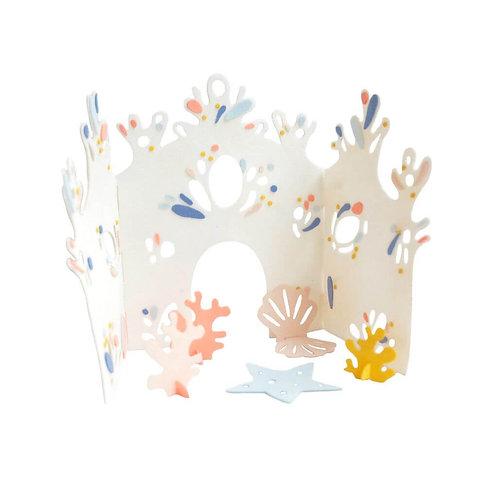 kit créatif château de corail FABELAB