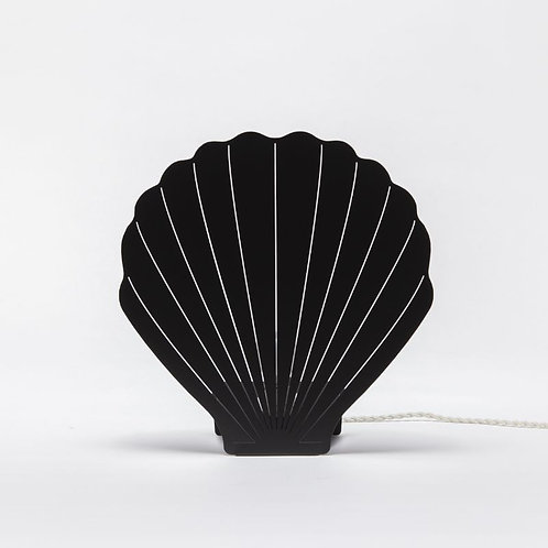 lampe shell L noire GOODNIGHT LIGHT