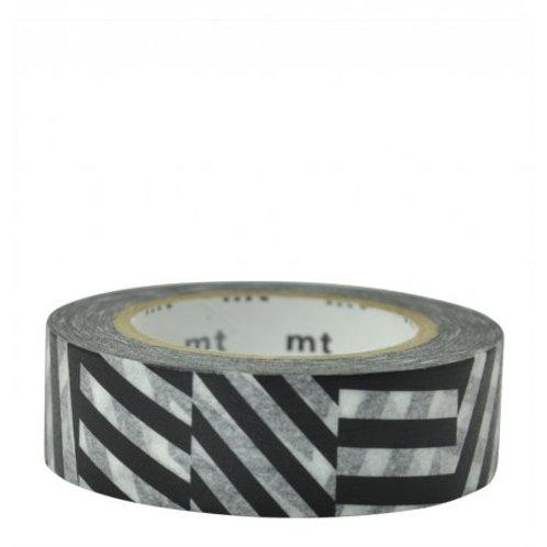 masking tape chevrons graphiques MT