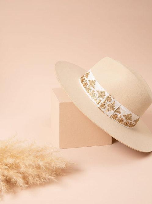 chapeau laine victor crème MARADJI