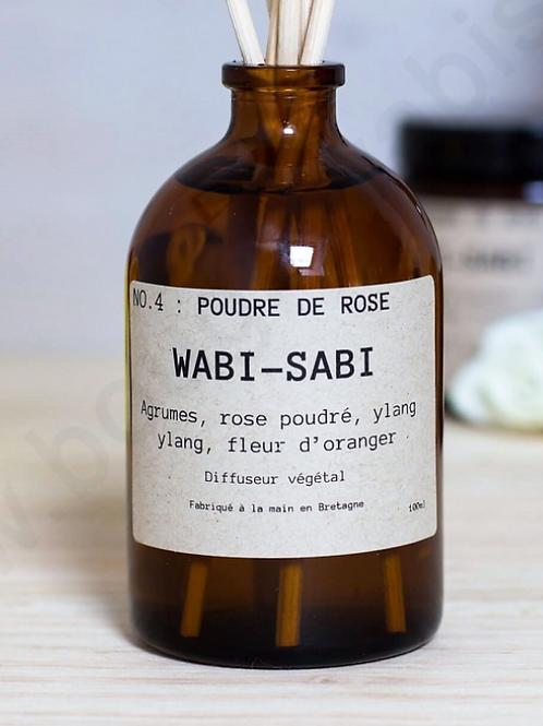 diffuseur végétal poudre de rose WABI SABI