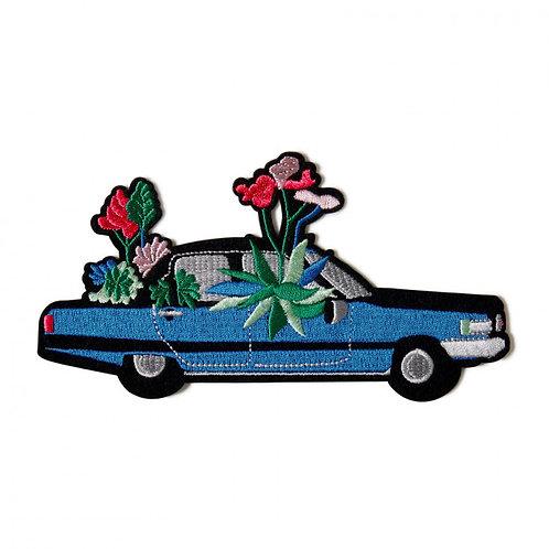 écusson cadillac en fleur MACON & LESQUOY