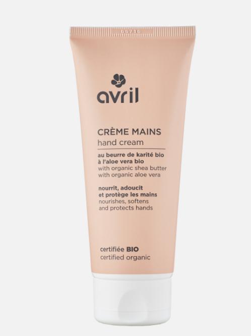 crème pour les mains bio AVRIL