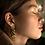 Thumbnail: boucles d'oreilles worms MARINE MISTAKE
