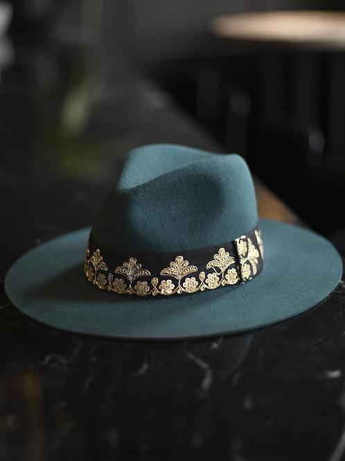 chapeau victor vert MARADJI