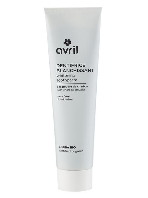 dentifrice blanchissant bio AVRIL