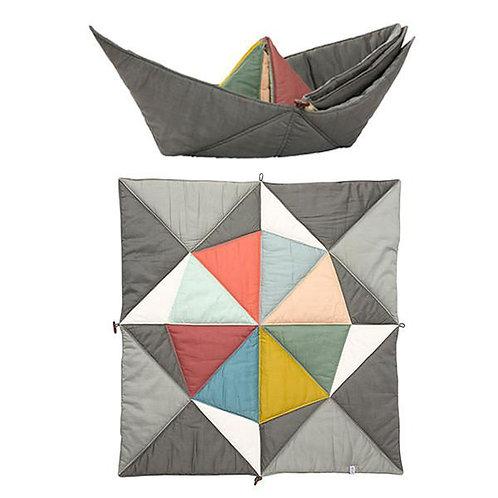 Couverture-tapis de jeu coton bio FABELAB