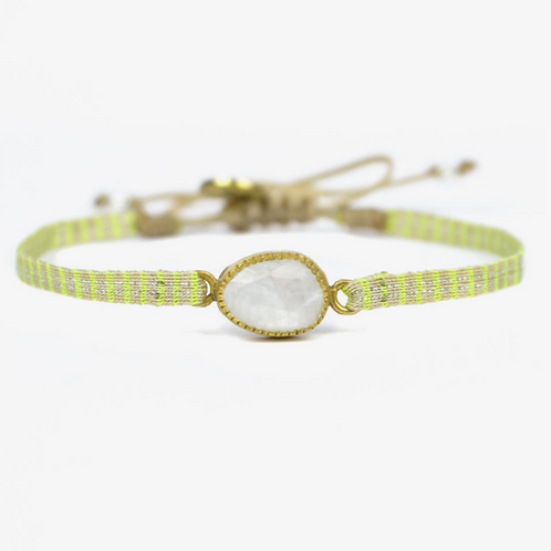 bracelet pierre de lune GUANABANA