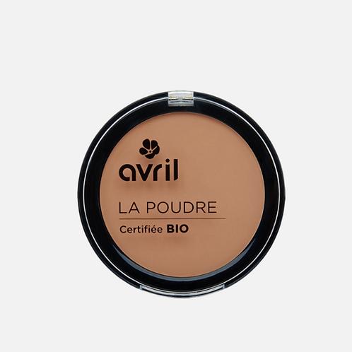 poudre compacte bio abricot AVRIL