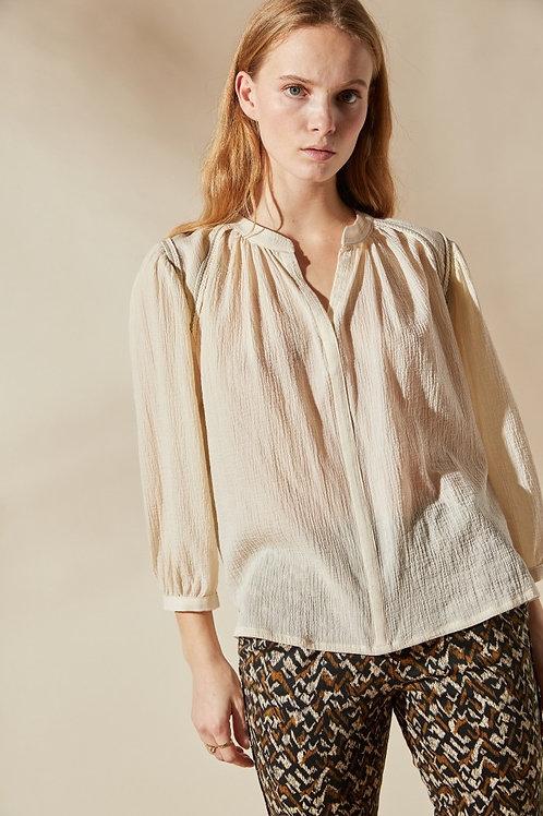 blouse meruk écru LOUIZON