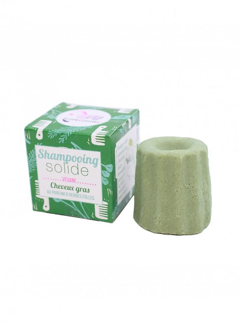 shampoing solide cheveux gras herbes folles