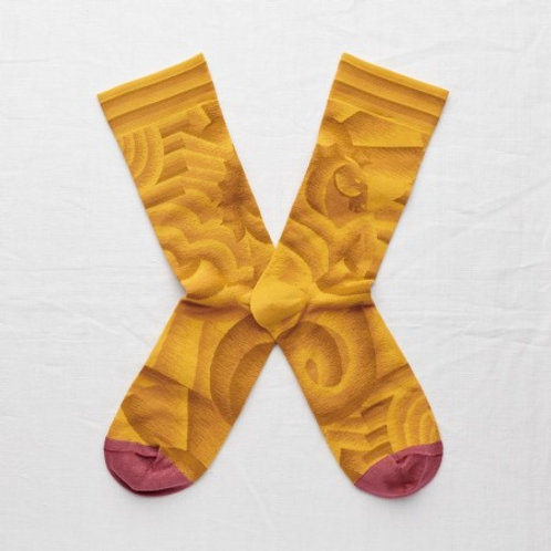 chaussettes bouton d'or BONNE MAISON