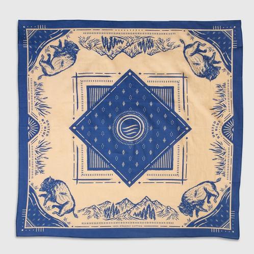 bandana horizon UNITED BY BLUE