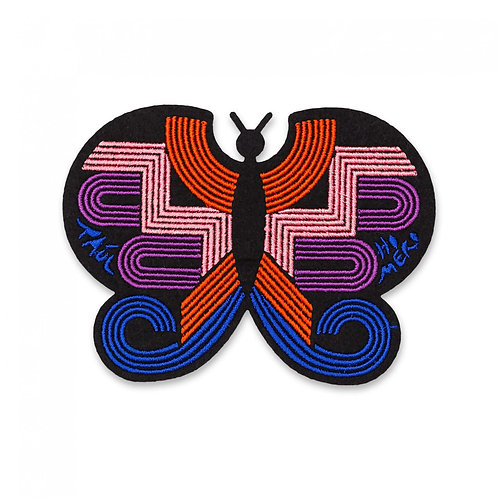 écusson papillon monarque MACON & LESQUOY