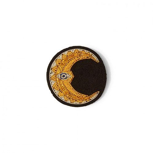 broche croissant de lune MACON & LESQUOY