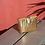 Thumbnail: pochette mini molly doré tressé MARADJI