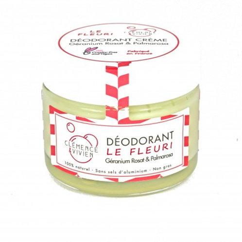 Déodorant CLEMENCE & VIVIEN géranium rosat+palmarosa+lavande