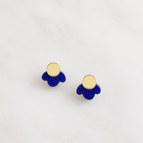 boucles wildflower blue WOLF & MOON
