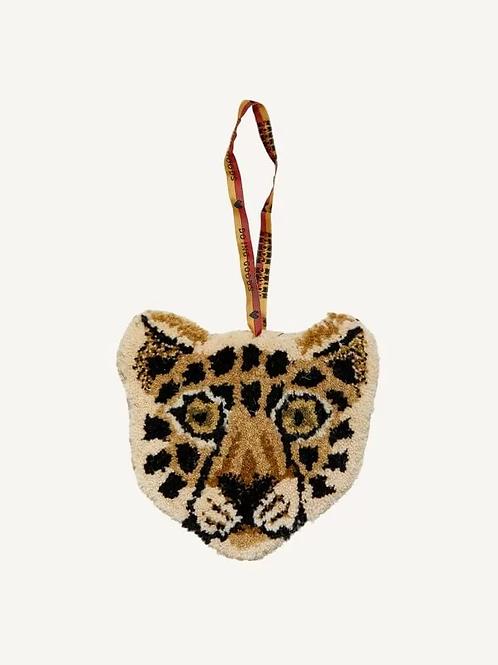 Mini tapis-pochette leopard DOING GOODS