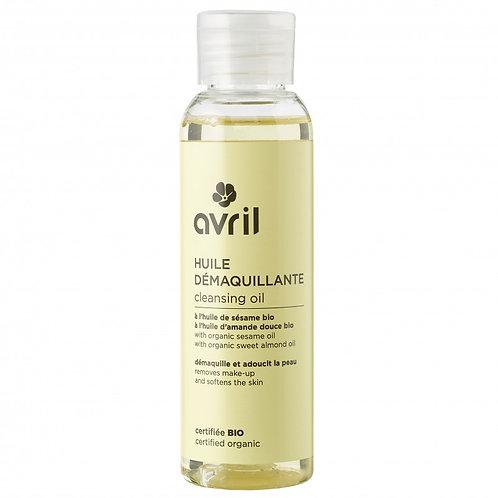huile démaquillante bio AVRIL