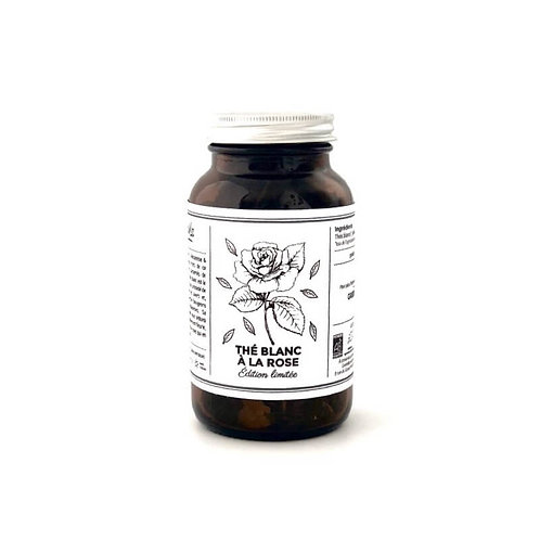thé blanc bio à la rose GREENMA