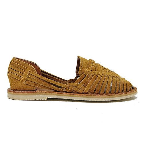 chaussures alegre suède camel MAPACHE