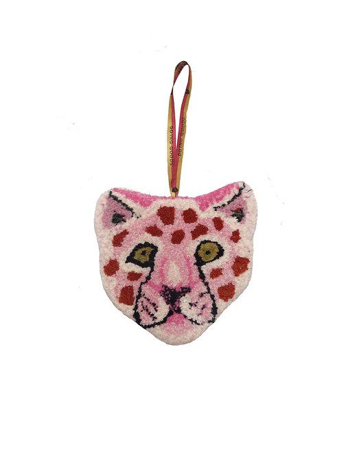 mini tapis léopard rose DOING GOODS