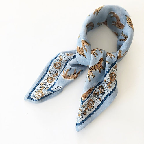 foulard manika bengale ciel APACHES