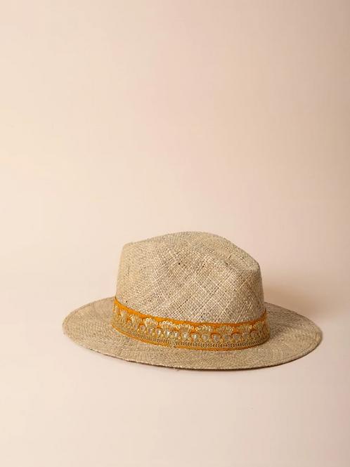 chapeau doré MARADJI
