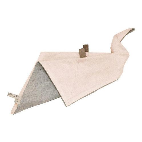 doudou origami coton bio rose FABELAB
