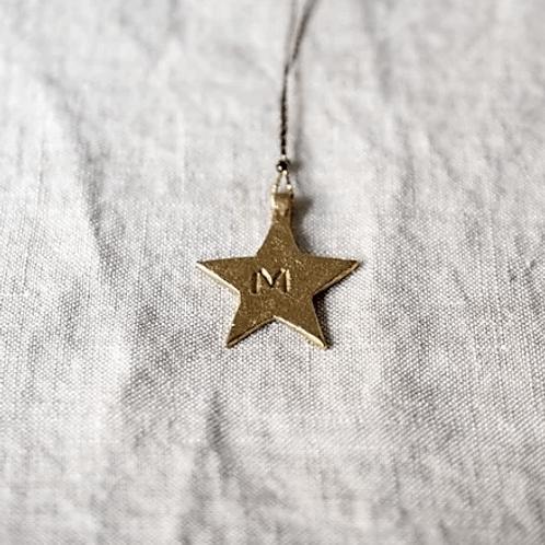 collier grigri étoile BONCOEURS