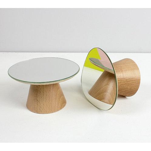 Patère miroir bolet REINE MERE (petit modèle)