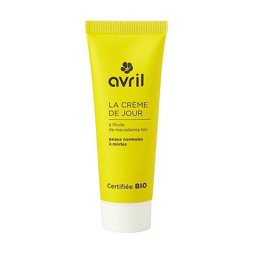 crème de jour bio peaux sèches AVRIL