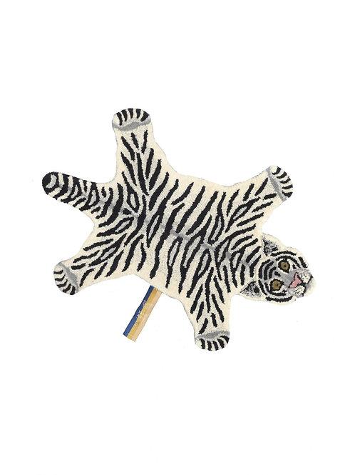 tapis tigre blanc DOING GOODS