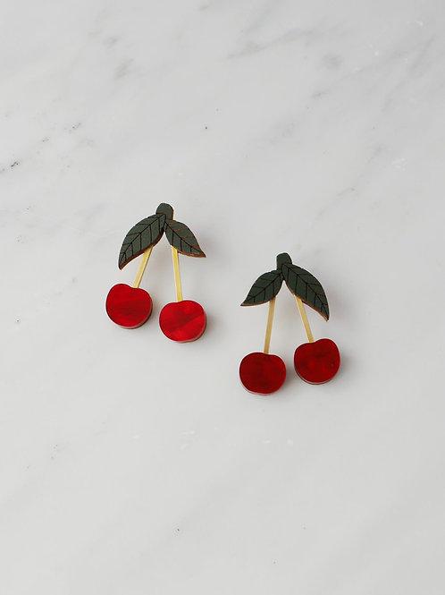 boucles d'oreille cherry WOLF & MOON