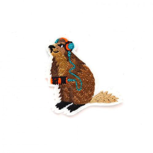 écusson marmotte MACON & LESQUOY