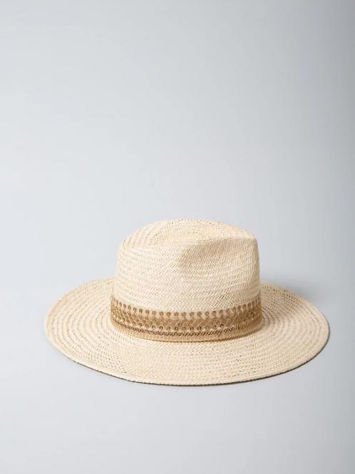 chapeau rosalie écru MARADJI