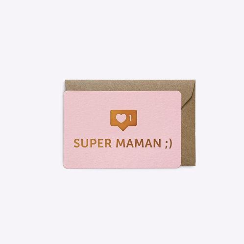 mini carte super maman LES EDITIONS DU PAON