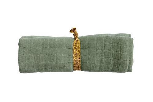 lange/foulard coton organique gris FABELAB