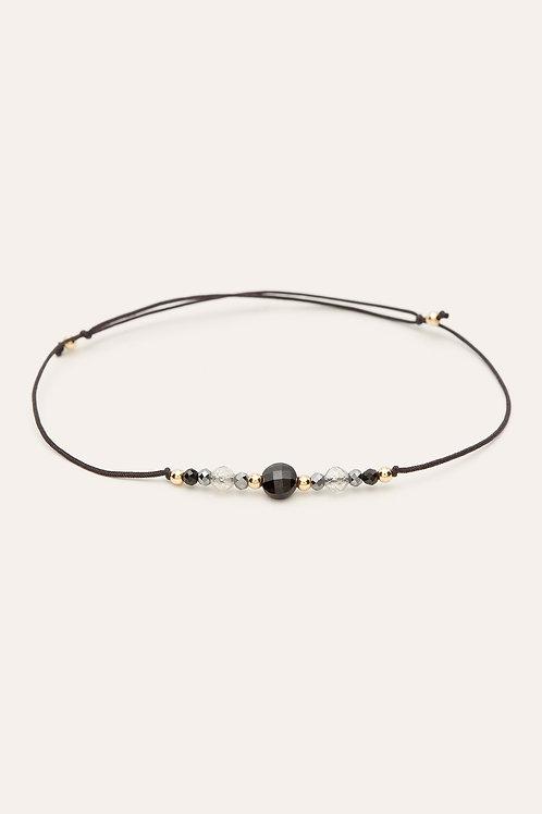 bracelet cordon chance noir YAY